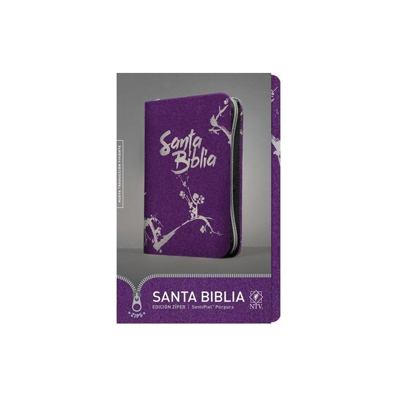 RVR 1960 Biblia Letra Grande con Referencias, negro/gris simil piel