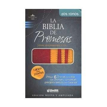 BIBLIA DE PROMESAS 2 TONOS...