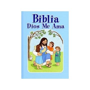 BIBLIA DIOS ME AMA - AZUL