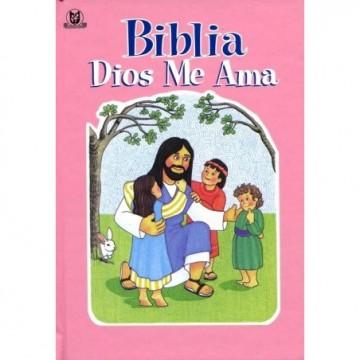 BIBLIA DIOS ME AMA - ROSA